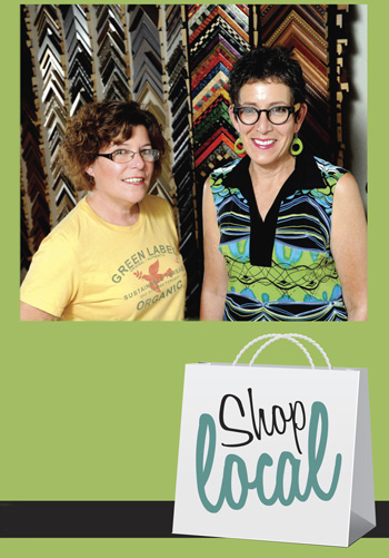 shop local - Kim and Barb DeBerge